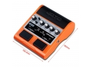 Guitar Amplifers - Mooer GE100 Guitar Multi-Effects Pedal with 2 Getaria Guitar Effect Cables