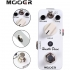 Effect Pedals - Mooer Hustle Drive, drive micro pedal with 2 Getaria Guitar Effect Cables